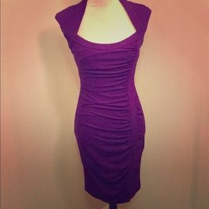 Caché Purple Dress